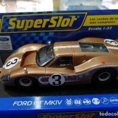 Scalextric: BLACK FRIDAY - FORD GT MKIV Nº3 DE LAS 24H. LE MANS 1967 DE SUPERSLOT. Lote 183371437
