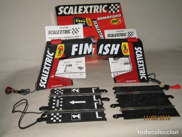 Scalextric: Semáforo EVO 1 y Cuentavueltas Electrónico EVO 1 de SCALEXTRIC - Foto 2 - 176214007
