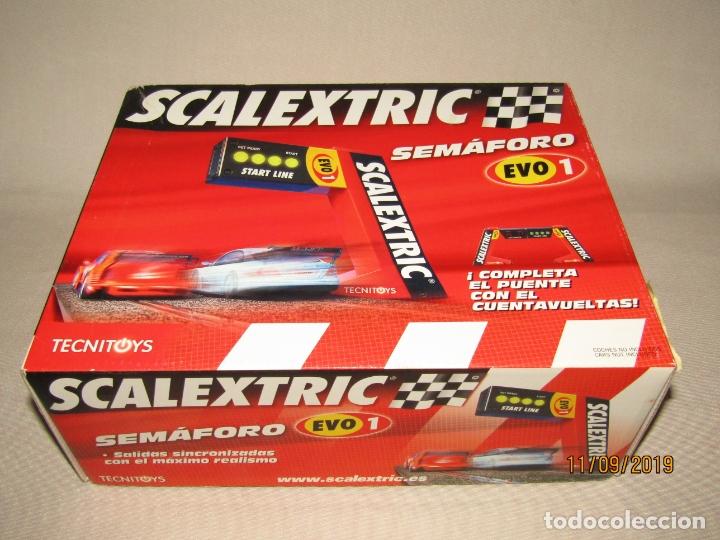 Scalextric: Semáforo EVO 1 y Cuentavueltas Electrónico EVO 1 de SCALEXTRIC - Foto 7 - 176214007