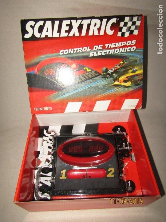 Scalextric: Control de Tiempos Electrónico de SCALEXTRIC - Foto 4 - 176214153
