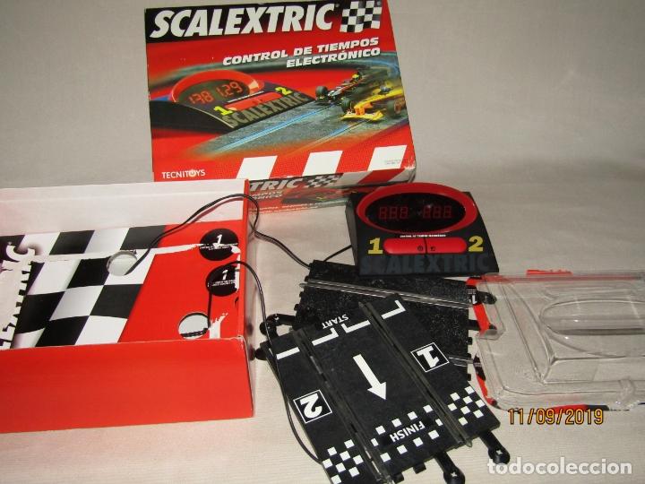 CONTROL DE TIEMPOS ELECTRÓNICO DE SCALEXTRIC (Juguetes - Slot Cars - Scalextric Tecnitoys)