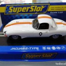 Scalextric: BLACK FRIDAY - JAGUAR E-TYPE BLANCO Nº9 DE SUPERSLOT. Lote 183371265
