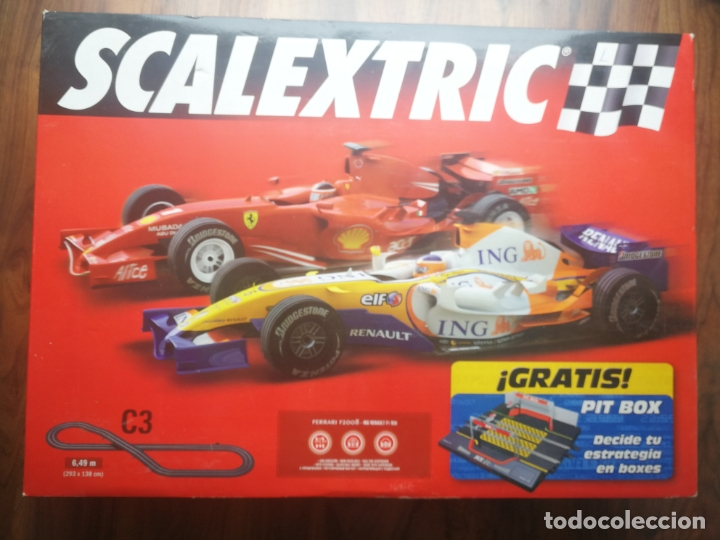 CIRCUITO SCALEXTRIC C3 TECNITOYS (Juguetes - Slot Cars - Scalextric Tecnitoys)