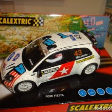 Scalextric: SCALEXTRIC. FORD FIESTA RALLY JWRC. REF. 6162. Lote 176381622