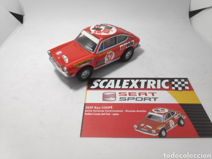 SCALEXTRIC SEAT 850 COUPE ALTAYA (Juguetes - Slot Cars - Scalextric Tecnitoys)