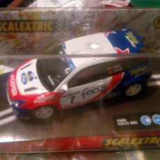 Scalextric: FORD FOCUS - BOLLYCAO - JAIO CRUZ - SCALEXTRIC. Lote 176446020