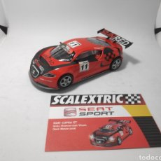 Scalextric: SCALEXTRIC SEAT CUPRA GT ALTAYA. Lote 176452299