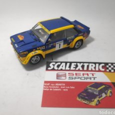 Scalextric: SCALEXTRIC SEAT 131 ABARTH ALTAYA. Lote 176516592