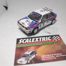 Scalextric: SCALEXTRIC LANCIA DELTA HF INTEGRALE MARTINI ALTAYA. Lote 176680755