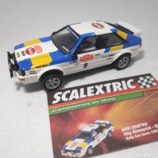 Scalextric: SCALEXTRIC AUDI QUATTRO ALTAYA. Lote 176681895