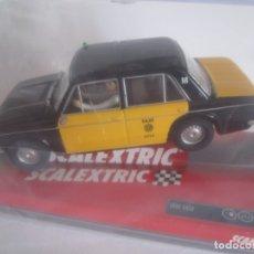 Scalextric: COCHE SCALEXTRIC SEAT 1430 TAXI BARCELONA NUEVO PRECINTADO TECNITOYS. Lote 176798350