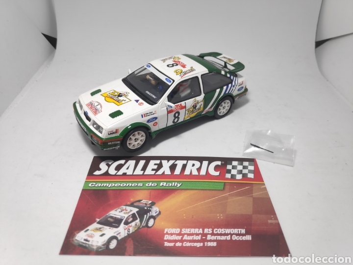 Scalextric: SCALEXTRIC FORD SIERRA RS COSWORTH ALTAYA - Foto 1 - 176856894