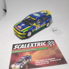 Scalextric: SCALEXTRIC FORD ESCORT RS COSWORTH ALTAYA. Lote 176857097