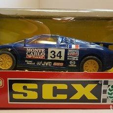 Scalextric: SCALEXTRIC BUGATTI EB-110 LEMANS REF. 83860.20 TYCO SCX NUEVO DE 1995. Lote 176874190