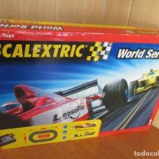 Scalextric: SCALEXTRIC WORLD SERIES DE TECNITOYS: (FALTA UNO DE LOS COCHES). Lote 177056658
