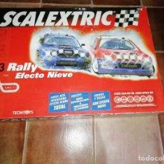 Scalextric: SCALEXTRIC SLOT EFECTO NIEVE C3 AÑO 2005. COMO NUEVO..MEJOR PRECIO TC. Lote 177527449