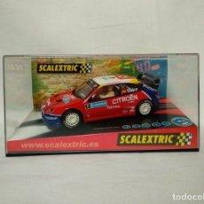 Scalextric: SCALEXTRIC 6151 CITROËN XSARA WRC SUECIA 2004 CARLOS SAINZ. Lote 163963982