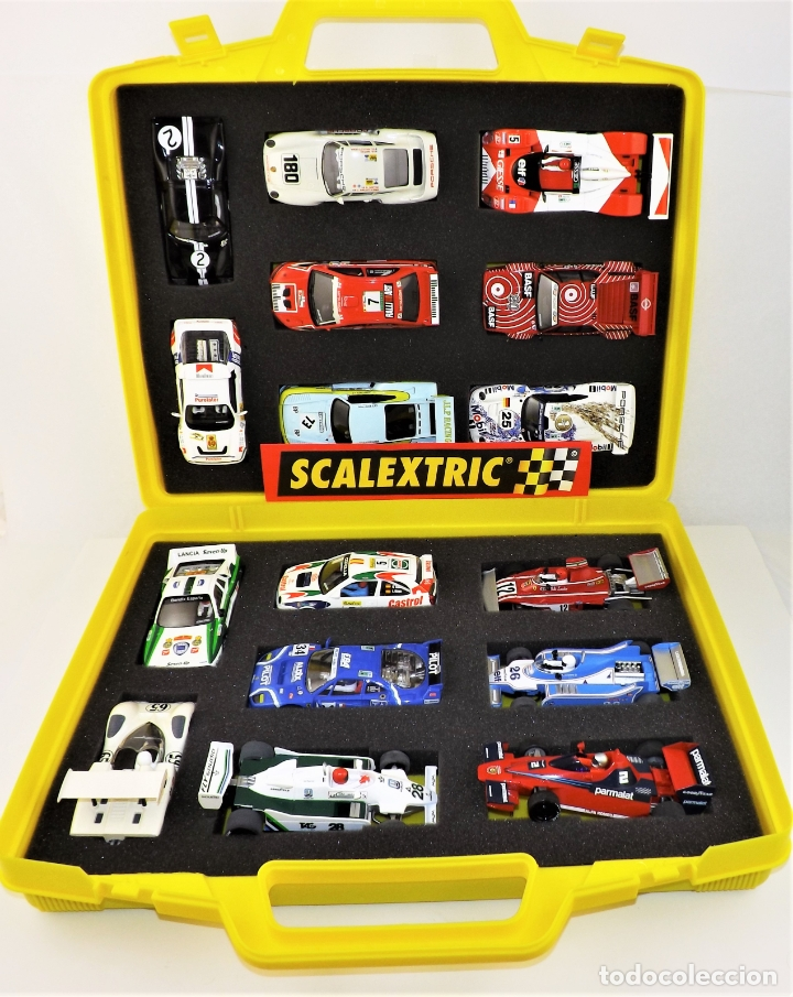 SCALEXTRIC ALTAYA COLECCIÓN DUELOS MÍTICOS .(COCHES `+ FASCÍCULOS ENCUADERNADOS) (Juguetes - Slot Cars - Scalextric Tecnitoys)