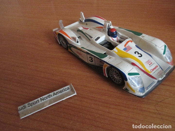 Scalextric: SCALEXTRIC TECNITOYS: AUDI R8 - Foto 2 - 178081719