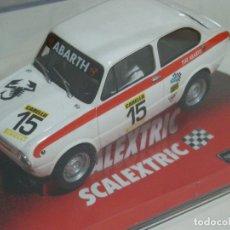 Scalextric: FIAT 850 ABARTH SCALEXTRIC NUEVO EN CAJA. Lote 178152668