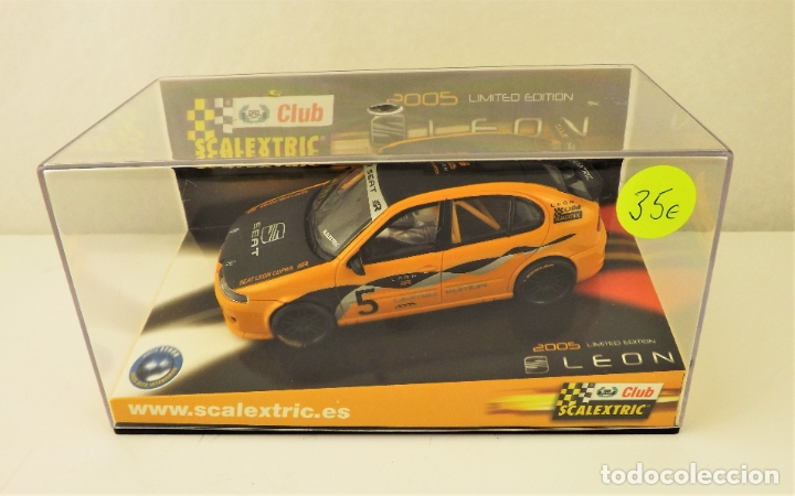 SCALEXTRIC CLUB SEAT LEON (Juguetes - Slot Cars - Scalextric Tecnitoys)