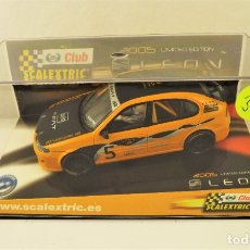 Scalextric: SCALEXTRIC CLUB SEAT LEON. Lote 178194581