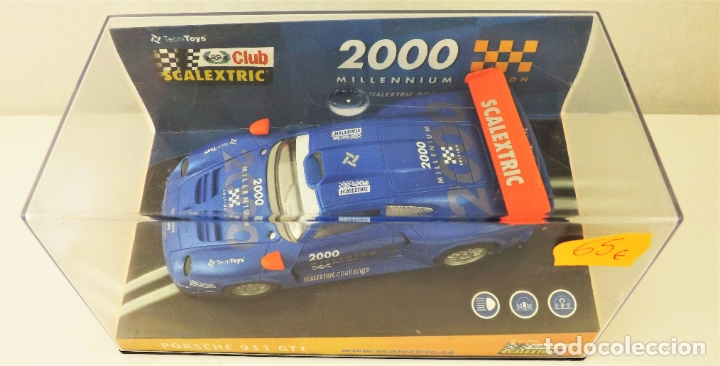 Scalextric: Cub Scalextric 2000 Porsche 911 GT1 Ref 6043 - Foto 2 - 178194726