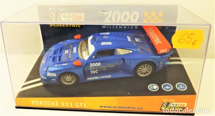 CUB SCALEXTRIC 2000 PORSCHE 911 GT1 REF 6043 (Juguetes - Slot Cars - Scalextric Tecnitoys)