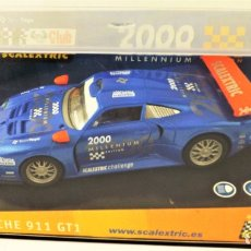Scalextric: CUB SCALEXTRIC 2000 PORSCHE 911 GT1 REF 6043. Lote 178194726