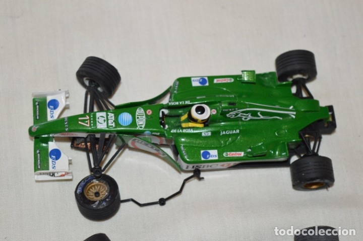 Scalextric: LOTE 2 COCHES F1 - SCALEXTRIC TECNITOYS - McLaren MP 4/16 - JAGUAR F-1 - ¡Mira fotos y detalles! - Foto 4 - 178268300