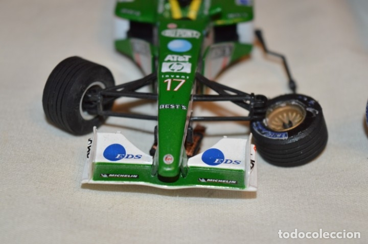 Scalextric: LOTE 2 COCHES F1 - SCALEXTRIC TECNITOYS - McLaren MP 4/16 - JAGUAR F-1 - ¡Mira fotos y detalles! - Foto 6 - 178268300