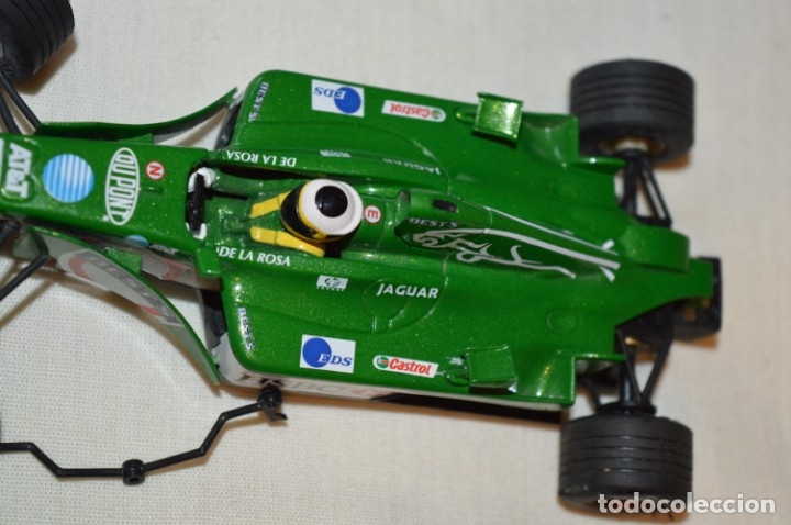 Scalextric: LOTE 2 COCHES F1 - SCALEXTRIC TECNITOYS - McLaren MP 4/16 - JAGUAR F-1 - ¡Mira fotos y detalles! - Foto 5 - 178268300