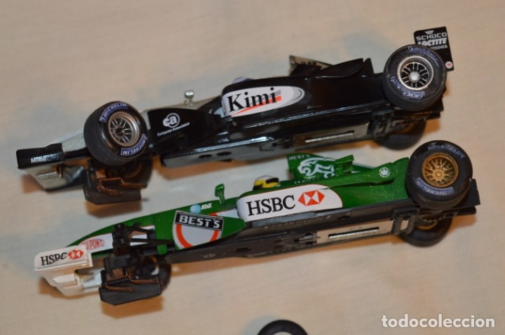 Scalextric: LOTE 2 COCHES F1 - SCALEXTRIC TECNITOYS - McLaren MP 4/16 - JAGUAR F-1 - ¡Mira fotos y detalles! - Foto 2 - 178268300