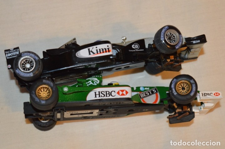 Scalextric: LOTE 2 COCHES F1 - SCALEXTRIC TECNITOYS - McLaren MP 4/16 - JAGUAR F-1 - ¡Mira fotos y detalles! - Foto 3 - 178268300