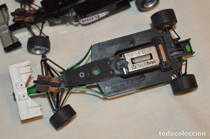 Scalextric: LOTE 2 COCHES F1 - SCALEXTRIC TECNITOYS - McLaren MP 4/16 - JAGUAR F-1 - ¡Mira fotos y detalles! - Foto 9 - 178268300