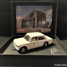 Scalextric: SCALEXTRICPASSION SEAT 1430 TAXI DE SABADELL. FOROSLOT BARCELONA JUNIO 2019. Lote 178273295