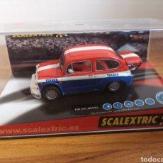 Scalextric: COCHE SCALEXTRIC DE TECNITOYS FIAT 600 ABARTH TEXACO REF. 6177. Lote 178640317