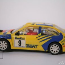 Scalextric: COCHE SCALEXTRIC TECNITOYS - SEAT CORDOBA WRC Nº 9 - ROVANPERÄ / PIETILÄINEN. Lote 178785433