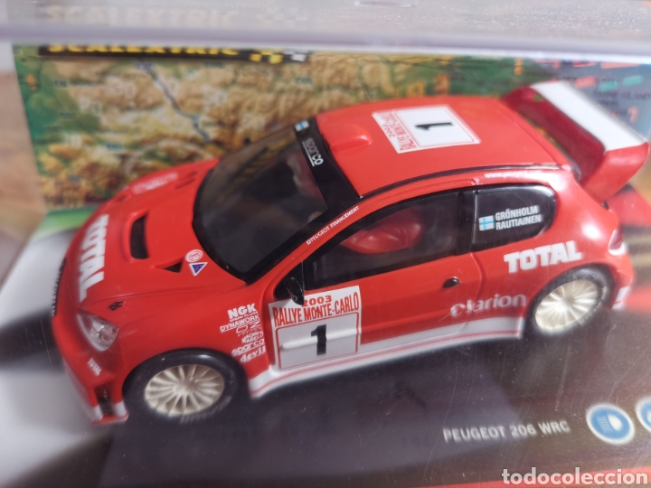 Scalextric: Coche scalextric de Tecnitoys Peugeot 206 WRC Gronholm 2003 nº1 ref. 6132 - Foto 2 - 178802331