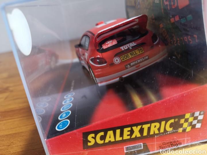 Scalextric: Coche scalextric de Tecnitoys Peugeot 206 WRC Gronholm 2003 nº1 ref. 6132 - Foto 3 - 178802331