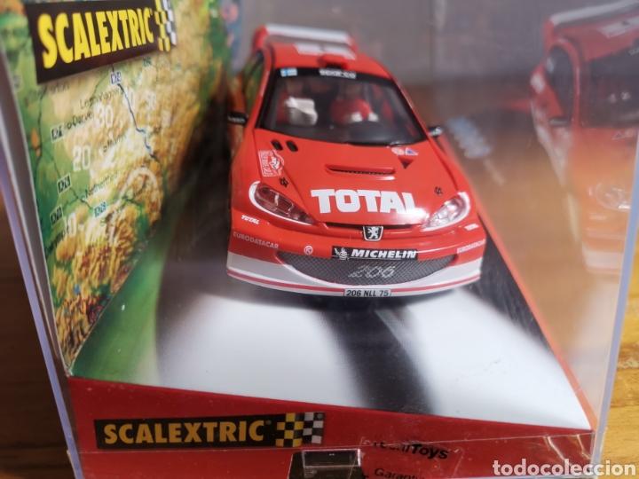 Scalextric: Coche scalextric de Tecnitoys Peugeot 206 WRC Gronholm 2003 nº1 ref. 6132 - Foto 5 - 178802331