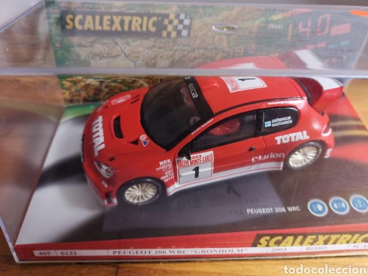 COCHE SCALEXTRIC DE TECNITOYS PEUGEOT 206 WRC GRONHOLM 2003 Nº1 REF. 6132 (Juguetes - Slot Cars - Scalextric Tecnitoys)