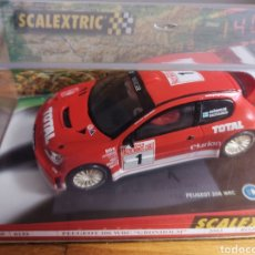 Scalextric: COCHE SCALEXTRIC DE TECNITOYS PEUGEOT 206 WRC GRONHOLM 2003 Nº1 REF. 6132. Lote 178802331
