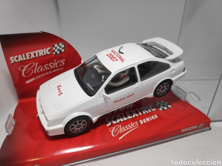 SCALEXTRIC FORD SIERRA RS COSWORTH CAMPEONATO NACIONAL.2007 TECNITOYS (Juguetes - Slot Cars - Scalextric Tecnitoys)