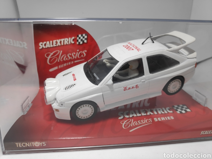 SCALEXTRIC FORD ESCORT RS COSWORTH CAMPEONATO NACIONAL 2007 TECNITOYS (Juguetes - Slot Cars - Scalextric Tecnitoys)
