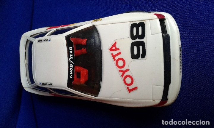 SCALEXTRIC TOYOTA CELICA (Juguetes - Slot Cars - Scalextric Tecnitoys)