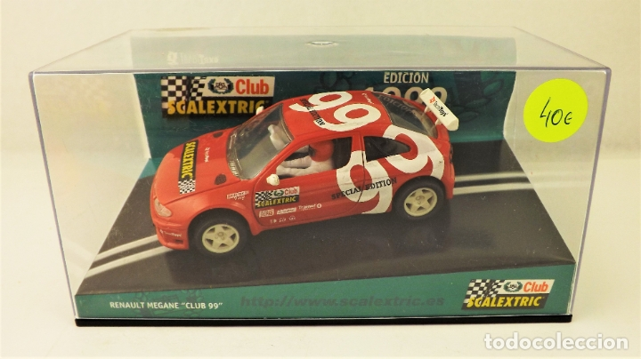 CLUB SCALEXTRIC TECNITOYS 1999 RENAULT MEGANE (Juguetes - Slot Cars - Scalextric Tecnitoys)