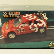 Scalextric: CLUB SCALEXTRIC TECNITOYS 1999 RENAULT MEGANE. Lote 178997352