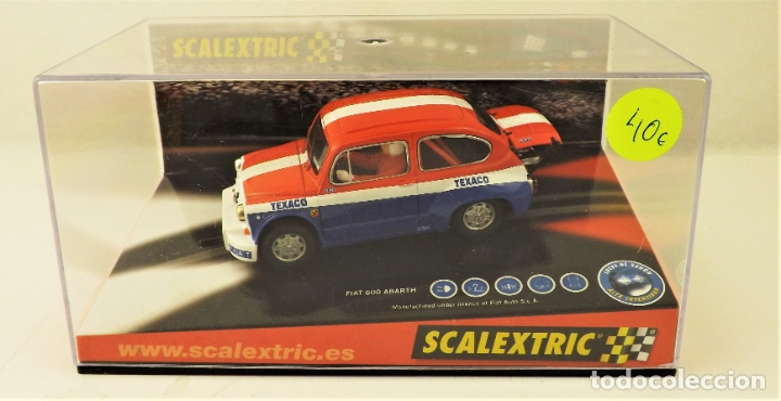 SCALEXTRIC FIAT ABARTH TEXACO (Juguetes - Slot Cars - Scalextric Tecnitoys)