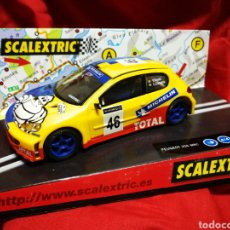 Scalextric: SCALEXTRIC PEUGEOT 206 WRC- REF. 6136-V. ROSSI, C. CASSINA (TECNITOYS), EN CAJA.. Lote 179000415